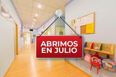 Abrimos nuestra escuela el próximo 1 de Julio